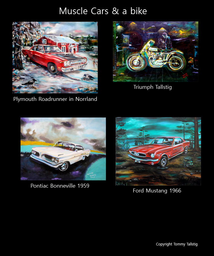 Muscle Cars Tommy Tallstig